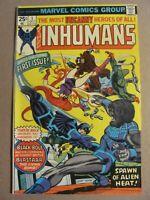 Inhumans #1 Marvel Comics 1975 Series