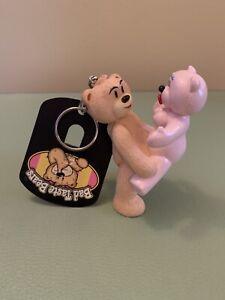 Bad Taste Bears - Roger Keyring/chain. Blow Up Doll.