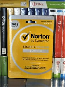 Norton Internet Security Premium 2020 10-Device 1-Year Subscription Product Key