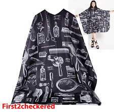 Hair Cutting Cape Large Salon Hairdressing Hairdresser Gown Barber Cloth Bl