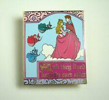 Disney Pin DLR Sleeping Beauty's Royal Ball Story Book LE Aurora Fairies Rare