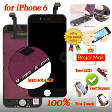 "Screen For iPhone 6 4.7"" Black Touch Display Digitizer LCD Replacement Assembly"