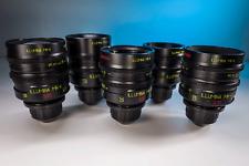 Lomo illumina MK-II S35 cine lense set 18, 25, 35, 50, 85mm T1.3 Arri PL mount