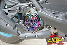 【UOP】CHROME COOLING FAN COVER DECORATION FOR BW'S 125 CYGNUS X ZUMA 125 GTR RAY