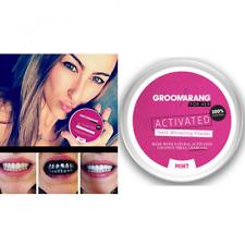 Poudre de charbon dent blanche - Groomarang for her ® Blanchiment des dents