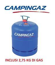 BOMBOLA PIENA CAMPINGAZ ART. 907  CON 2,75 KG GAS IDALE PER CAMPER E CAMPEGGIO
