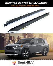 Fits for Nissan Rogue X-Trail 2014-2021 Door Side Step Nerf Bar Running Board