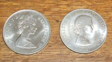 UK 1981 PRINCE CHARLES PRINCESS DIANA 1965 WINSTON CHURCHILL CROWN COIN ENGLAND