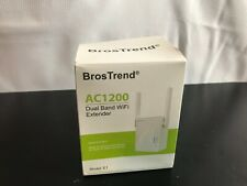 BrosTrend AC1200 Wifi Range Extender |  2.4GHZ Dual-Band Wifi