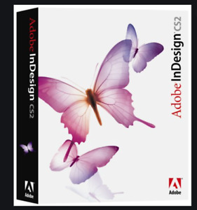 Adobe Indesign CS2  For Mac OS New Sealed