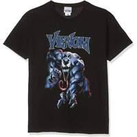 Official Licensed Venom Grab Black T-Shirt