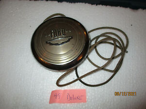 VG USED   1949 FORD DELUXE  HORN BUTTON