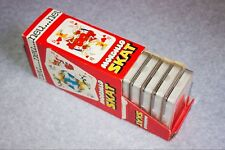 Mordillo Skat Spielkarten 10er Box/Aufsteller | Braune Rückseite, Heye, neu, ovp