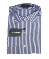 $165 Polo Ralph Lauren Mens Regent Custom Fit Pony Logo Purple Green Dress Shirt