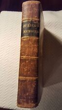 Antique Book Memoirs of Eminently Pious Women 1836
