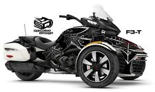 "Can Am Spyder F3T Decal Graphic Wrap kit - ""Black Widow"""