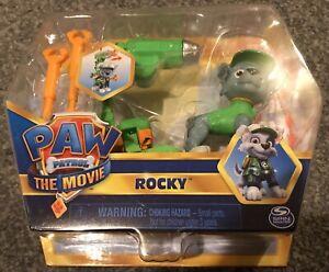 Paw Patrol The Movie: Hero Pup Figure Rocky