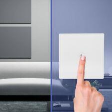 12V Kabellos Smart Wandschalter Dimmer Touchschalter Lichtschalter (Weiß)