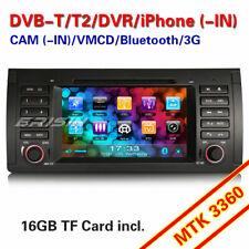 Autorradio BMW 5 Series E53 E39 M5 X5 DVR RDS GPS Bluetooth iPod Car Radio DVD