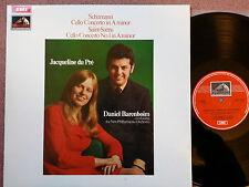 ASD 2498 SCHUMANN SAINT-SAENS cello concts DU PRE - BARENBOIM NPO