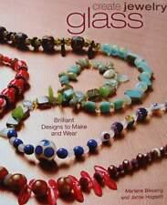 LIVRE/BOOK : PERLES DE VERRE POUR BIJOUX FANTAISIE FAIRE SOI MÊME glass beads