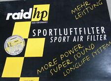 Raid HP Sportluftfilter Luftfilter Opel Astra F 521040