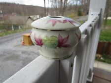 Welmar Germany Handpainted Lided Bowl With Floral Art Decor~~GORGEOUS!!