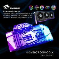 Bykski GPU Water Block Cooler Colorful For Gigabyte RTX 3070 Graphics Card,VGA