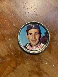 Sandy Koufax Topps 1964 Coin #106