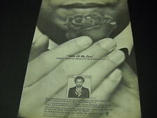 Wilbert Longmire delivers promise in full With All My Love 1980 Promo Poster Ad
