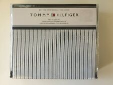 Tommy Hilfiger Blue White Stripe College Dorm Extra Long Bed Twin Sheet Set