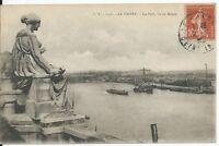 CPA 76 - LE HAVRE - Le Port vu du Musée