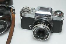 Zeiss Ikon Icarex 35 TM + Carl Zeiss Tessar 50mm F2.8 M42
