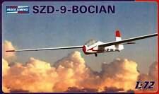 SZD 9 BIS BOCIAN (STORK) SAILPLANE/GLIDER  1/72 PZW pzl