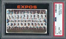 1971 TOPPS #674 (HIGH #) EXPOS TEAM  PSA 8 (NM-MT) CENTERED! ~ GFCC