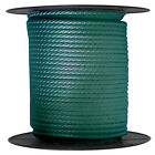 Anchor Rope Dock Line 38 X 50 Braided 100 Nylon Forest Green Made In Usa