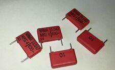5x 0.047uF 630V/47nF/47000pF Wima MKS4 Capacitores.
