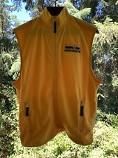 Nwt- Ironman Triathlon Coeur d'Alene Men's Size S Yellow Fleece Vest Very Rare!