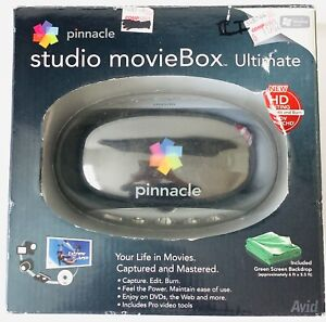 Pinnacle Studio MovieBox Ultimate Fire Wire USB Capture Video Editing 710-USB