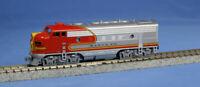 KATO 1762121 N Scale EMD F7A Santa Fe Warbonnet 301 176-2121 NEW