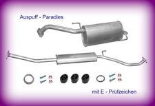 Abgasanlage Auspuff für Nissan Micra III 1.0, 1.2 & 1.4 K12 bis Bj. 11/2003 +Kit