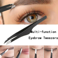 Chic Stainless Steel Slant Tip Multi-functions Hair Removal Eyebrow