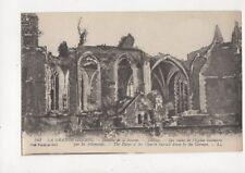 La Grande Guerre Bataille de la Somme Tilloloy France Vintage Postcard 449a