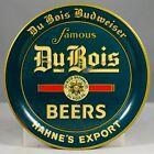 Old DuBois Budweiser Beer Tin Litho Tip Tray Brewing Co. Du Bois Pennsylvania PA