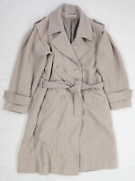 Yessica Womens Size 14 Wool Beige Coat