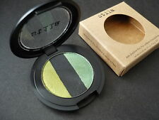 NIB Stila Eye Shadow Trio Going Green Pan + Refillable Compact Full Size