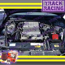 96 97 CHEVY LUMINA OLDSMOBILE CUTLASS SUPREME 3.4L V6 LQ1 Z34 AIR INTAKE+K&N Red