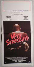 Locandina VITE STROZZATE 1°EDIZIONE ITALIANA1996 VINCENT LINDON, SABRINA FERILLI