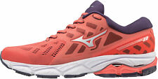 Mizuno Wave Ultima 11 Womens Running Shoes Trainers Red Cushioned