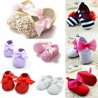 Toddler Baby Shoes Newborn Girls Soft Soled Princess Crib Shoes Prewalker 0-18M